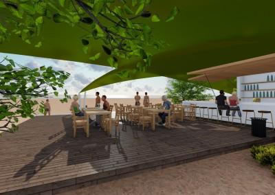 מסעדה בחוף אולגה
